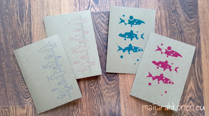 Whitefish greeting cards