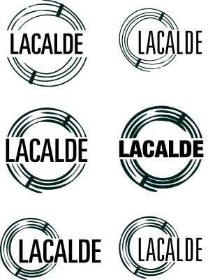 Lacalde logo taking shape