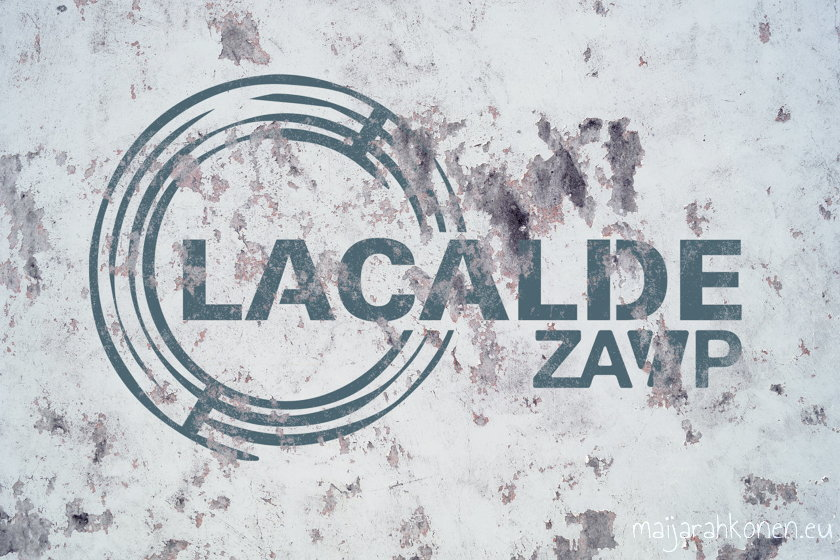 The mockup of Lacalde logo